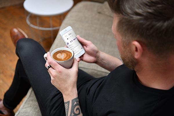 McLEAR Ring - Lifestyle Coffee